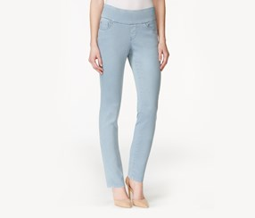 JAG Amelia Ankle Khaki Wash Jeans, Blue Wonder