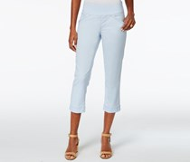 Jag Women's Jeans Marion Crop in Bay Twill, Bluebell