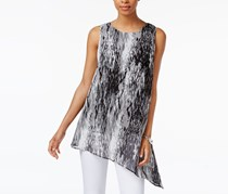Joseph A Women Asymmetrical Top, Moody Baselisk Grey