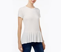 Tommy Hilfiger Peplum Top, Ivory