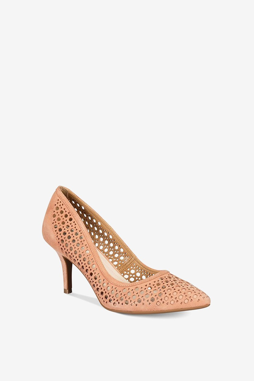 Women's Step 'N Flex Jennah Perforated Pumps, Apricot