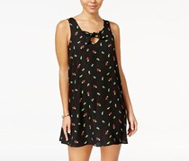 Be Bop Juniors Printed Shift Dress, Black