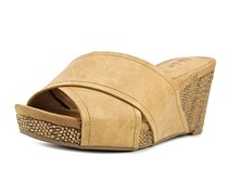 Style & Co. Jillee Open Toe Casual Platform Sandals, Natural