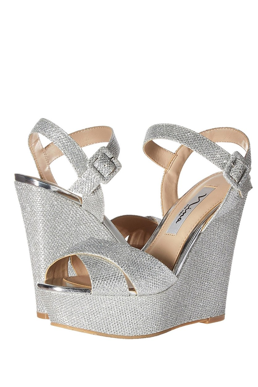 Women's Jinjer Wedge Sandal, Silver
