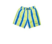The Junior Trunk Wide Tripes, Royal / Lime