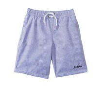 Jr. Swim Boys' Dot Swim Trunk , Purple Dots