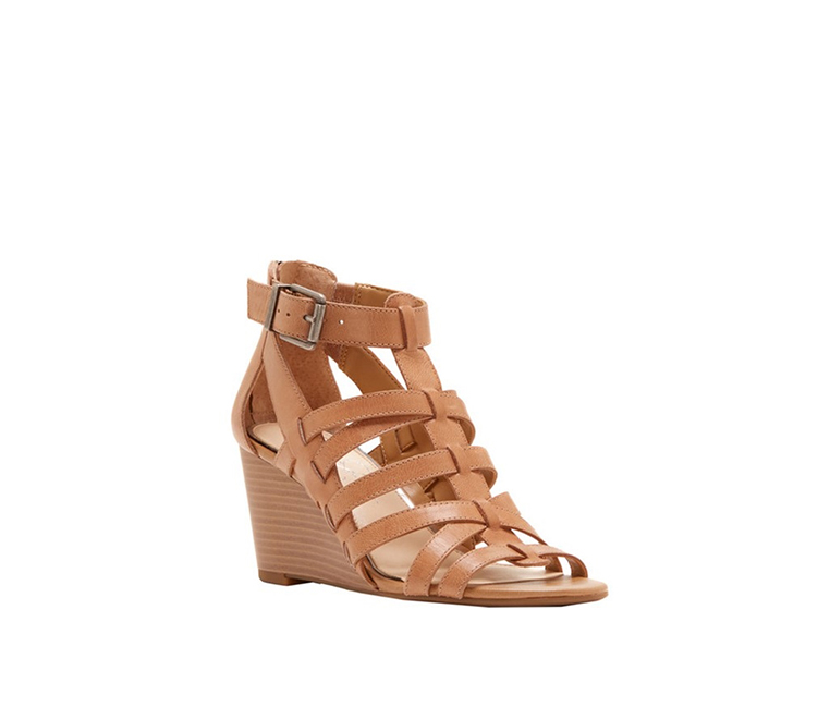 Jessica Simpson Cloe Wedge Sandal, Buff