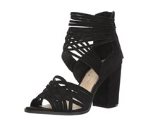 Jessica Simpson Women's Reilynn Heeled Sandal, Black