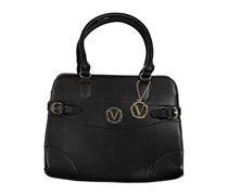 Joan Vass Womens Bridget Tote Bag, Black