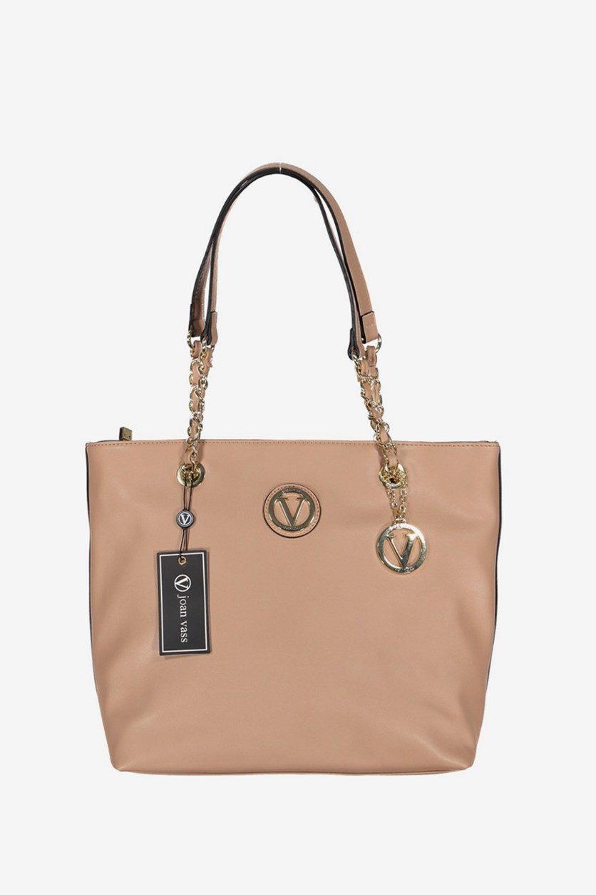 Women's Olivia Tote Bag, Nude