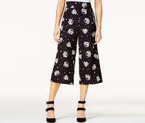 Shift Juniors' Printed Gauchos, Black/White