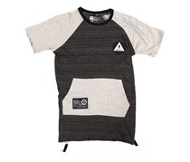 LRG Little Boys Alpha Decay Tee, Dark Heather Grey