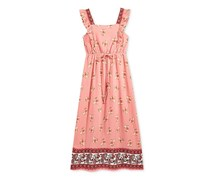 Monteau Big Girl's Printed Maxi Dress, Blush