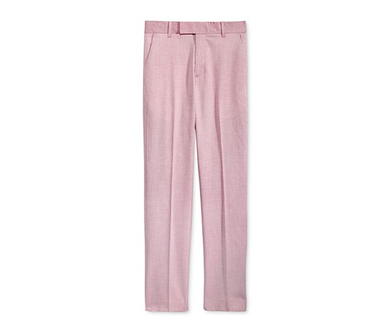 Calvin Klein Tick Weave Pants, Medium Pink
