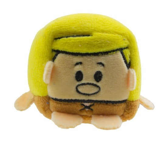 Kawaii Cube Small Barney Rubble Figure Plush Soft Toy