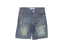 Kapital K Little Boys Denim Short, Indigo