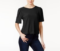 Kensie Tie-Back Top, Black