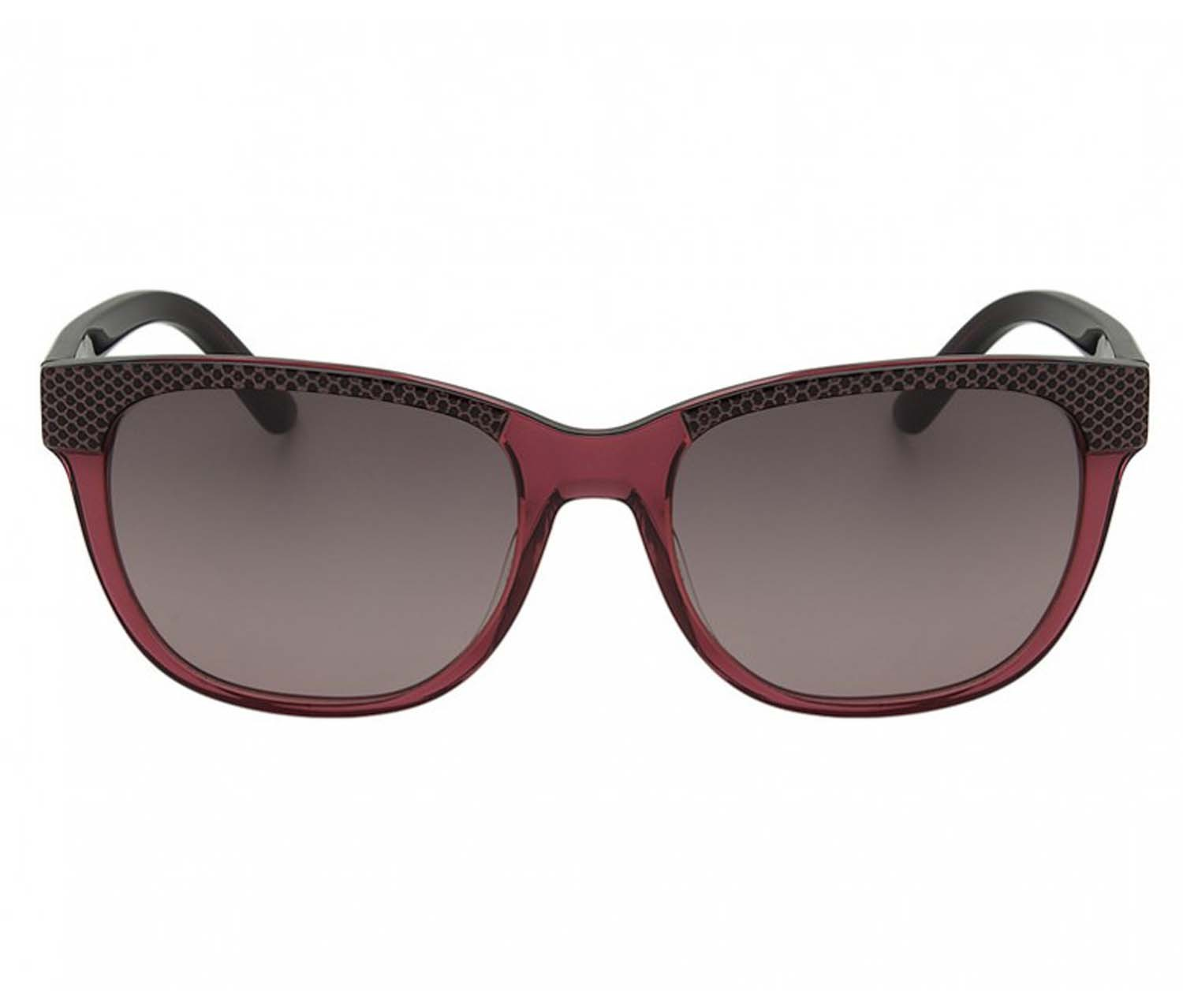Lacoste L700S 615 Burgundy Brown Square Cat Sunglasses - Brands For Less 1f6ba8a364