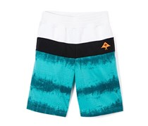 Tropic Short, White/Blue Green/Black