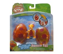 Wind Up Hatching Egg With Spikey, Orange / Red