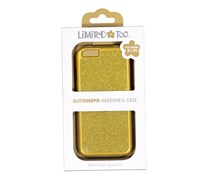 Limited Too Iphone 6/6S Glitterbomb Hardshell Case , Gold
