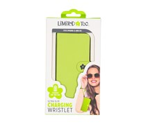 Limited Too Iphone 6/6S Ultra Slim Charging Wristlet, Green
