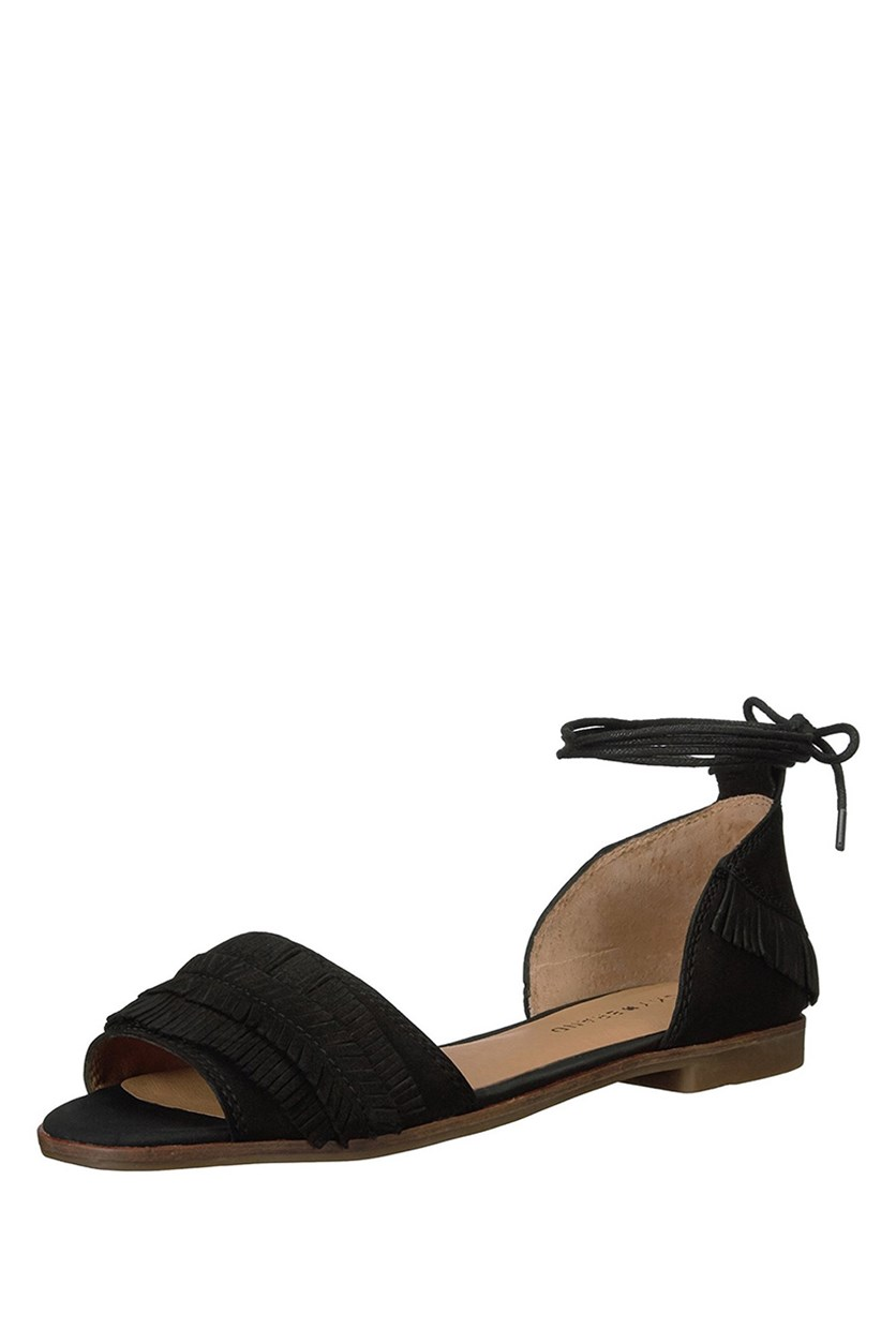 Womens Gelso Flats, Black