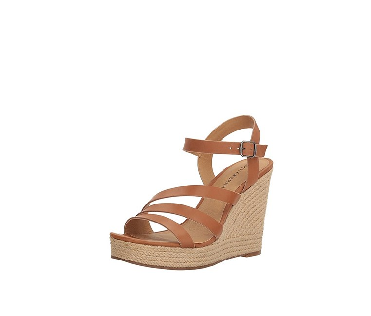 Women's Lk-Latif Heeled Sandal, Almond