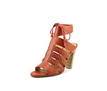 Lucky Brand Womens Radfas Leather Open Toe Casual Ankle Strap Sandals, Picante