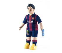 Luis Suarez - FC Barcelona Football Figure Doll Sports Doll Toy