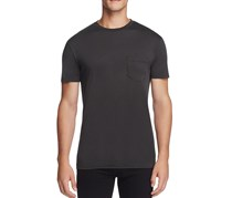 M Singer Cotton Pocket Tee, Black
