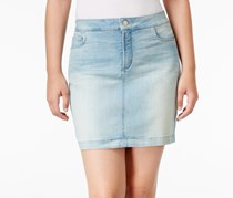Nydj Womens Collection Emily Jean Skirt, Denim Wash