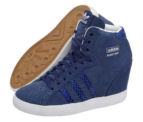 9f323f23 Shop Adidas Adidas Basket Profi Up Women's, Blue for Women Shoes in ...
