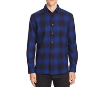 Rag & Bone Men's Beach Sport Shirt, Blue Combo