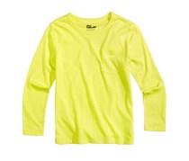 Epic Threads Solid Pocket Toddler T-Shirt, Electric Citron