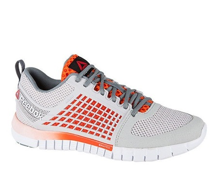 buy popular a2bfc 0288b Reebok ZQuick Electrify Running Shoes, Steel Orange