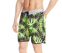 Hurley Men's Surface 2 Board Short Phantom, Flash Lime