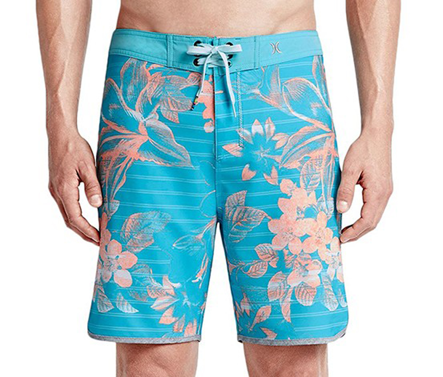 Hurley Mens Phantom Lark Boardshort, Beta Blue