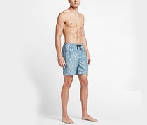 Hurley Men's Beach Cruiser Volley, Washed Blue