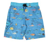 Maui And Sons Men's Food Chain Boardshort, Blue