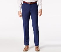 Bar III Cobalt Blue Slim-Fit Pants, Blue