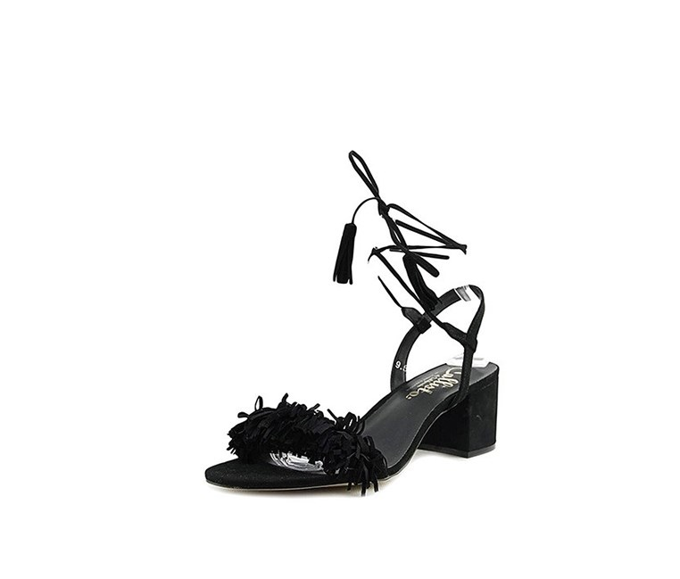 Callisto Women's MELZ Open Toe Ankle Strap Sandals, Black