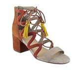 Marc Fisher Women's Rayz Sandal, Taupe Brown