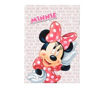 Simba Minnie Mouse Single Line Arabic Notebook, Red