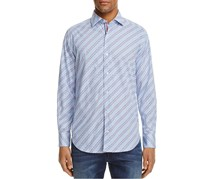 TailorByrd Mazzard Regular Fit Button-Down Shirt, Light Blue