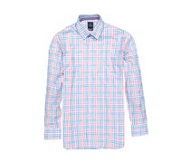 TailorByrd Mens Checkered Dress Shirts, Aqua