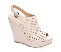 Chinese Laundry Women's Monique Micro Suede Wedges, Sand