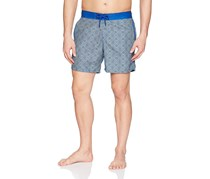Mr. Swim Mens Maze Chuck Swim Trunks, Navy
