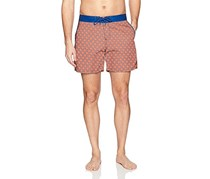 Mr. Swim Men's Swim Trunk, Orange
