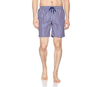 Beach Bros Men's Striped Short, Navy